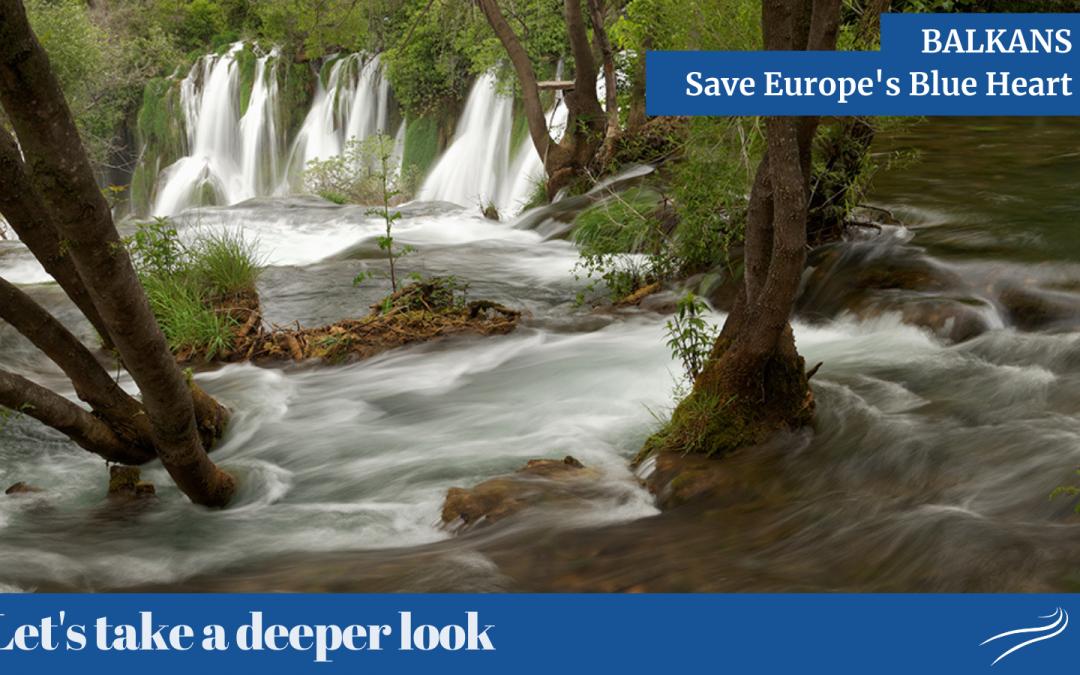 Balcani – salvare il cuore blu d'Europa