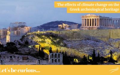 Gli effetti del cambiamento climatico sul patrimonio archeologico greco