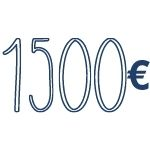 reddito di 1500 €