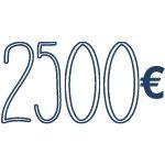 reddito di 2500 €