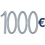 reddito di 1000 €