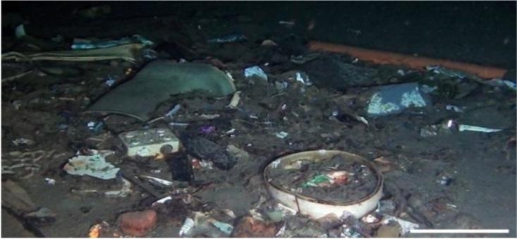 Un mare di rifiuti sui fondali dello Stretto di Messina