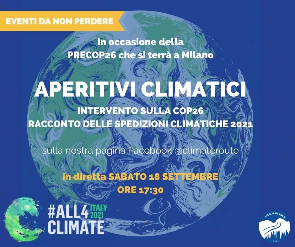 Diretta facebook Aperitivi climatici
